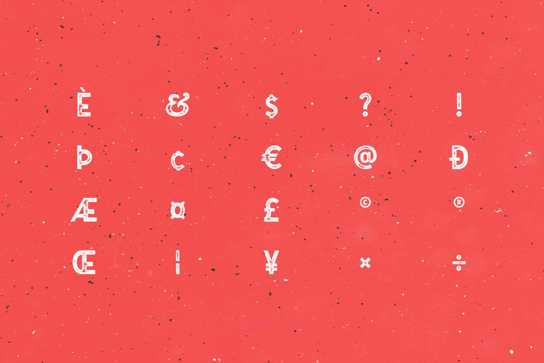 Gutenberg Font Family example image 17
