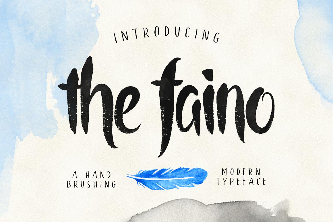 the faino typeface example image 1