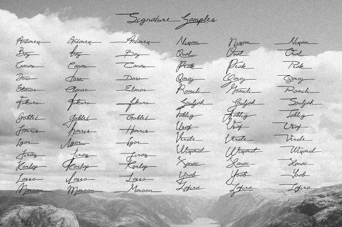 Proudly Signature Script example image 5