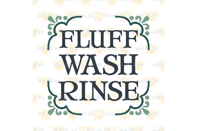 Fluff wash rinse example image 3