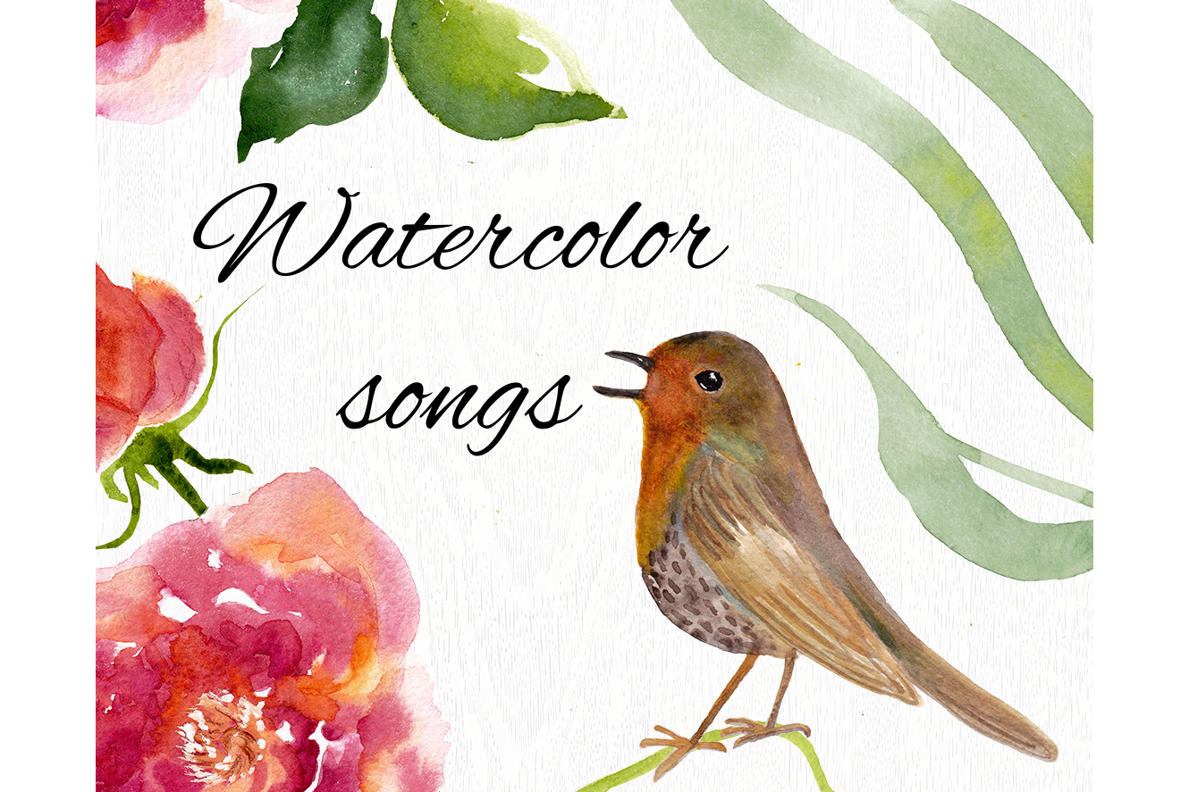 Watercolor songs example image 5