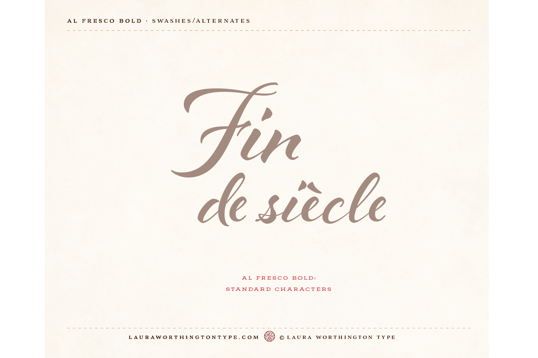 Al Fresco Bold example image 29