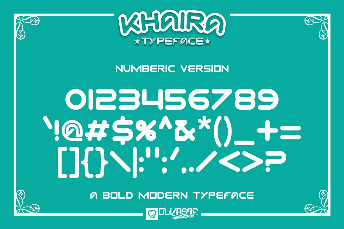 KHAIRA TYPEFACE example image 11