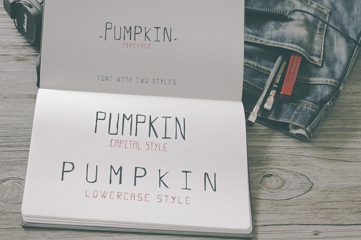 Pumpkin Script Typeface example image 4