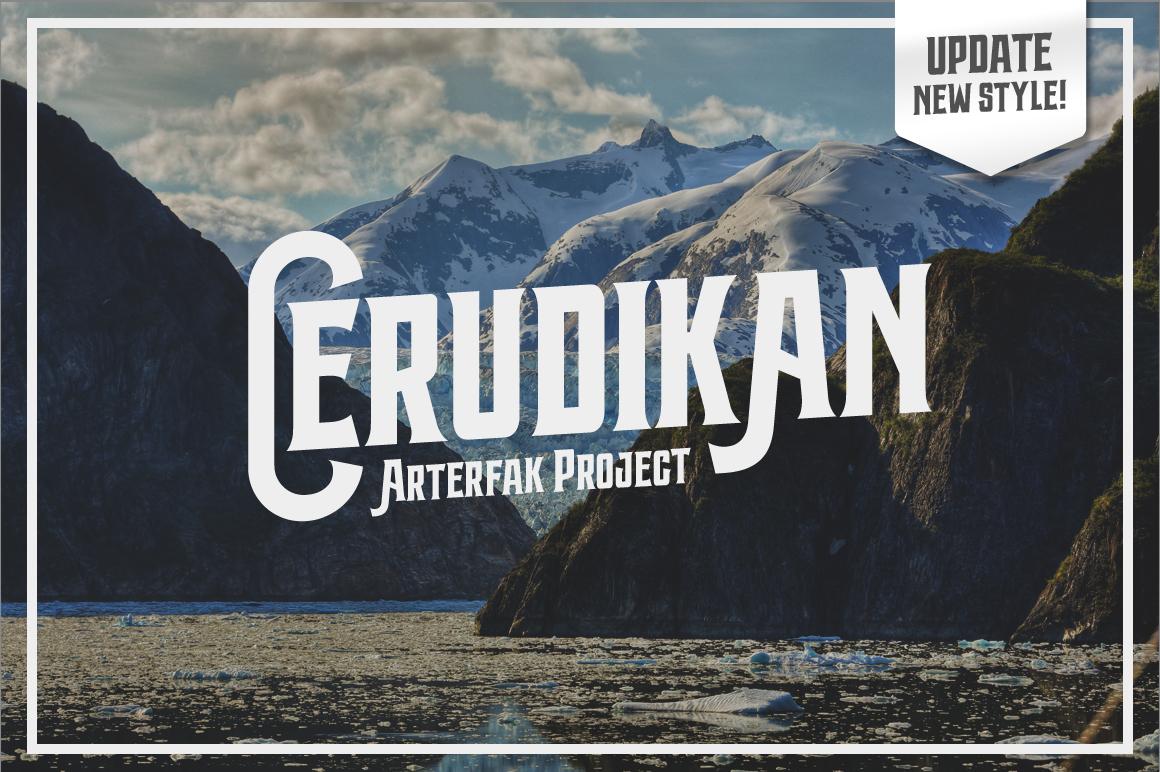 Cerudikan Typeface example image 4