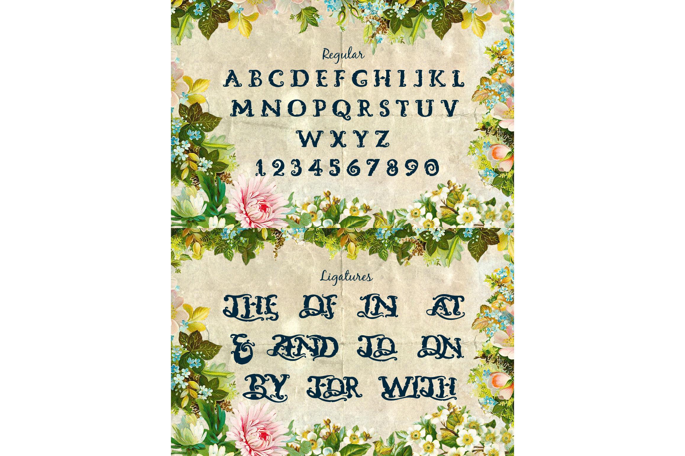 Neverland Handmade Font example image 4