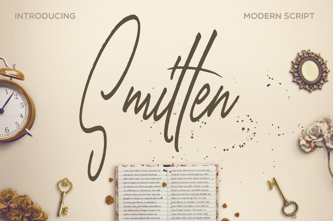 Smitten Script example image 1