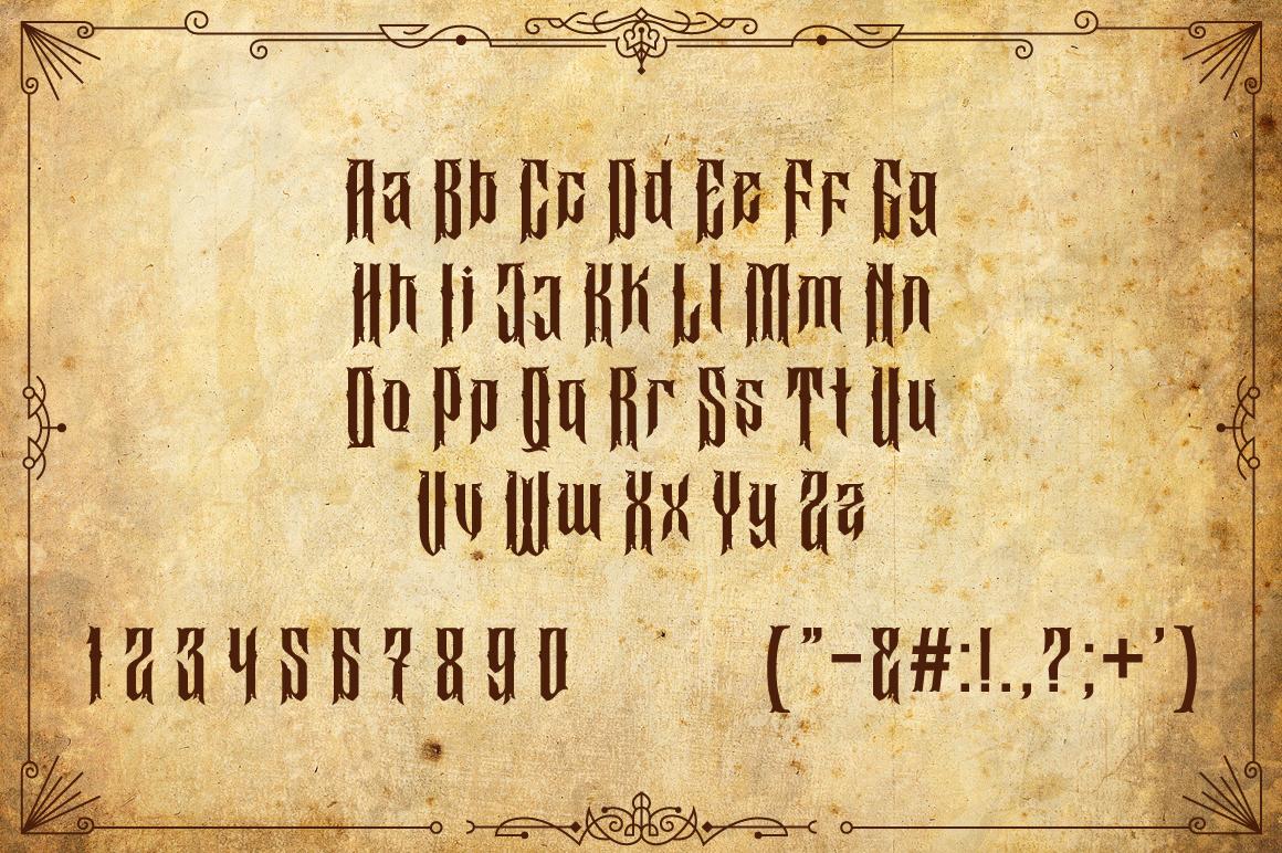 Buyanbengak Typeface example image 7
