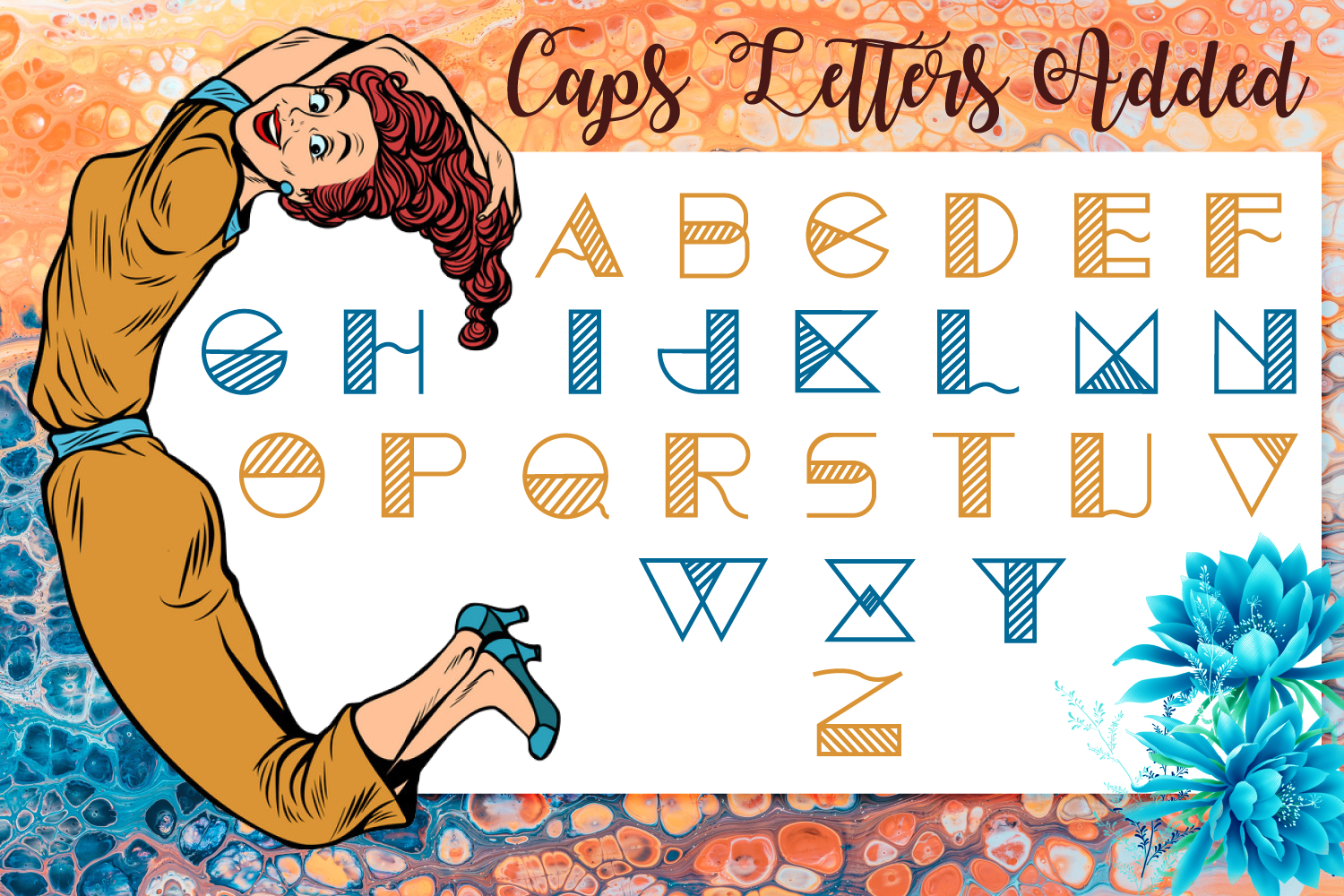 Articon - A Cute Lining Font example image 2