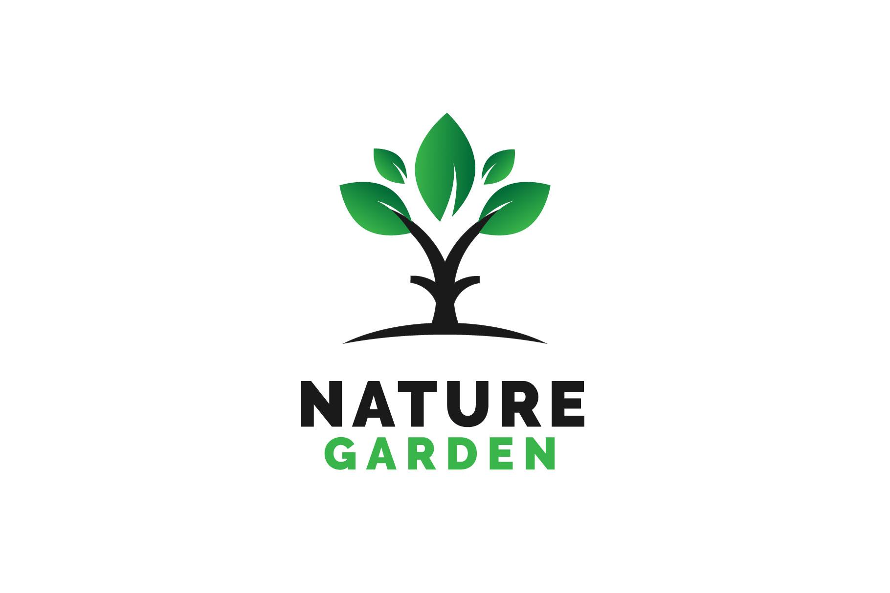 Nature Garden Logo Vol.03 example image 1