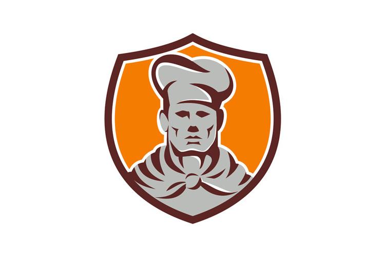Chef Cook Shield Retro example image 1