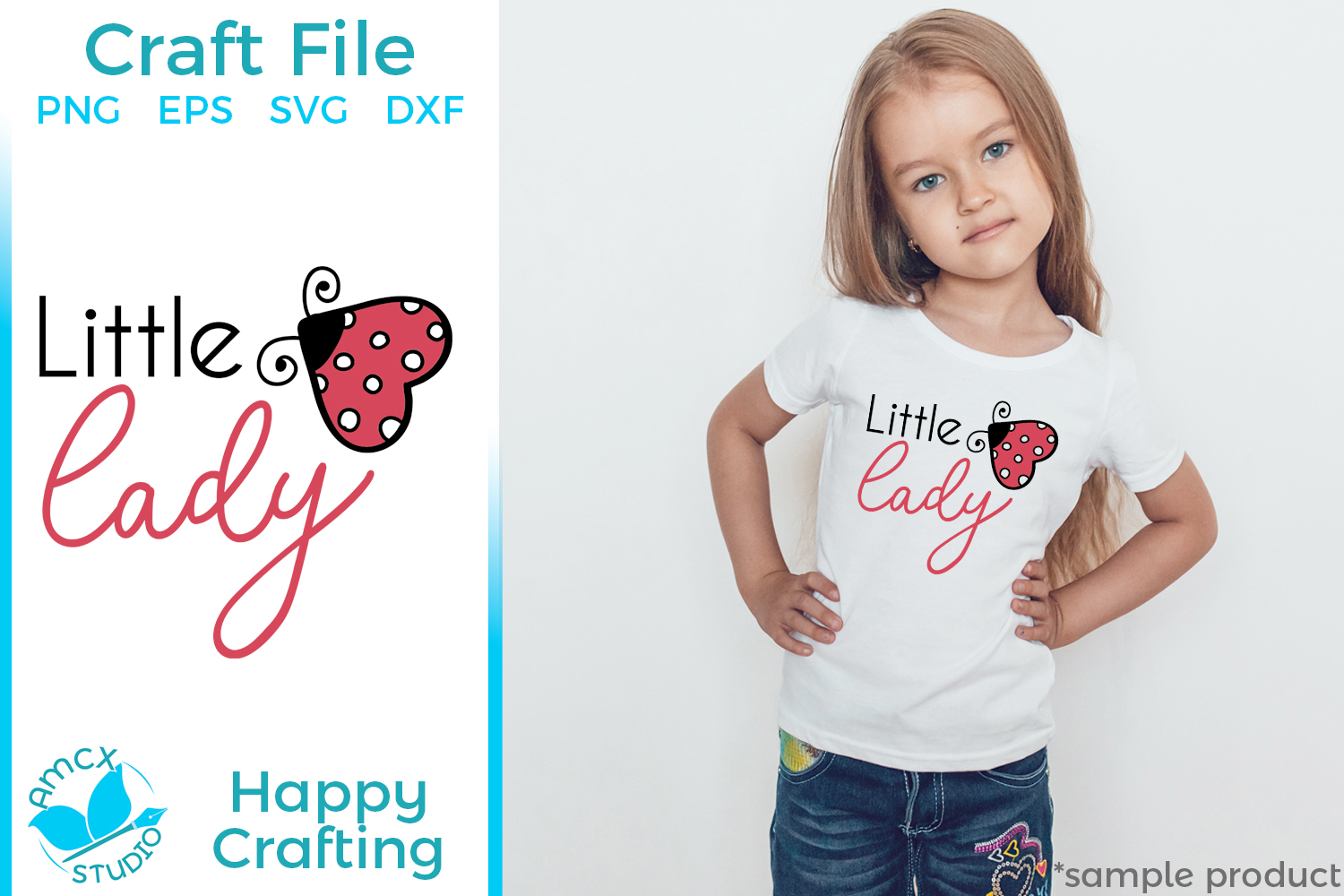 Little Lady - A Cute Lady Bug Craft File example image 1