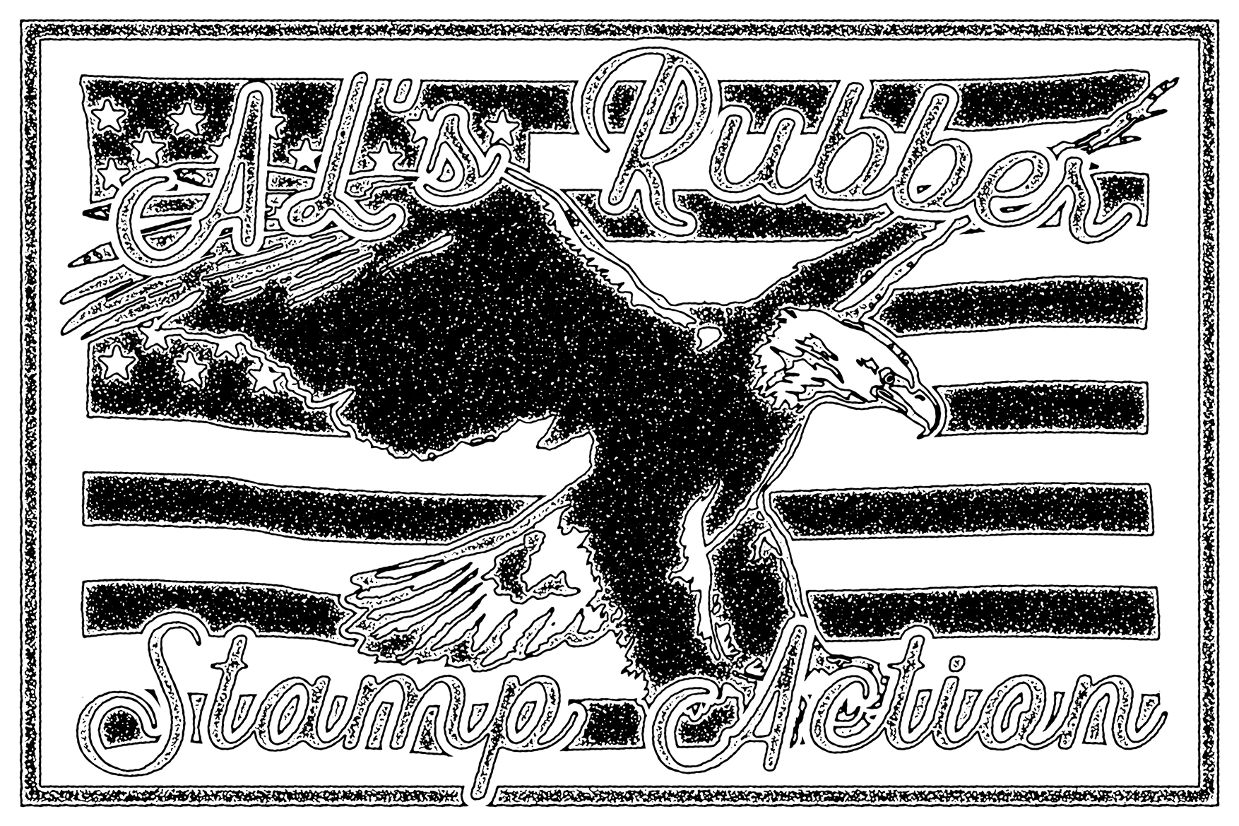 AL's Rubber Stamp Action Kit example image 28