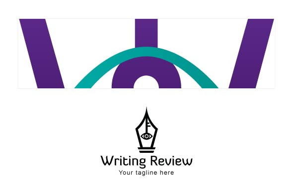 Writing Review - Stock Logo Template example image 3