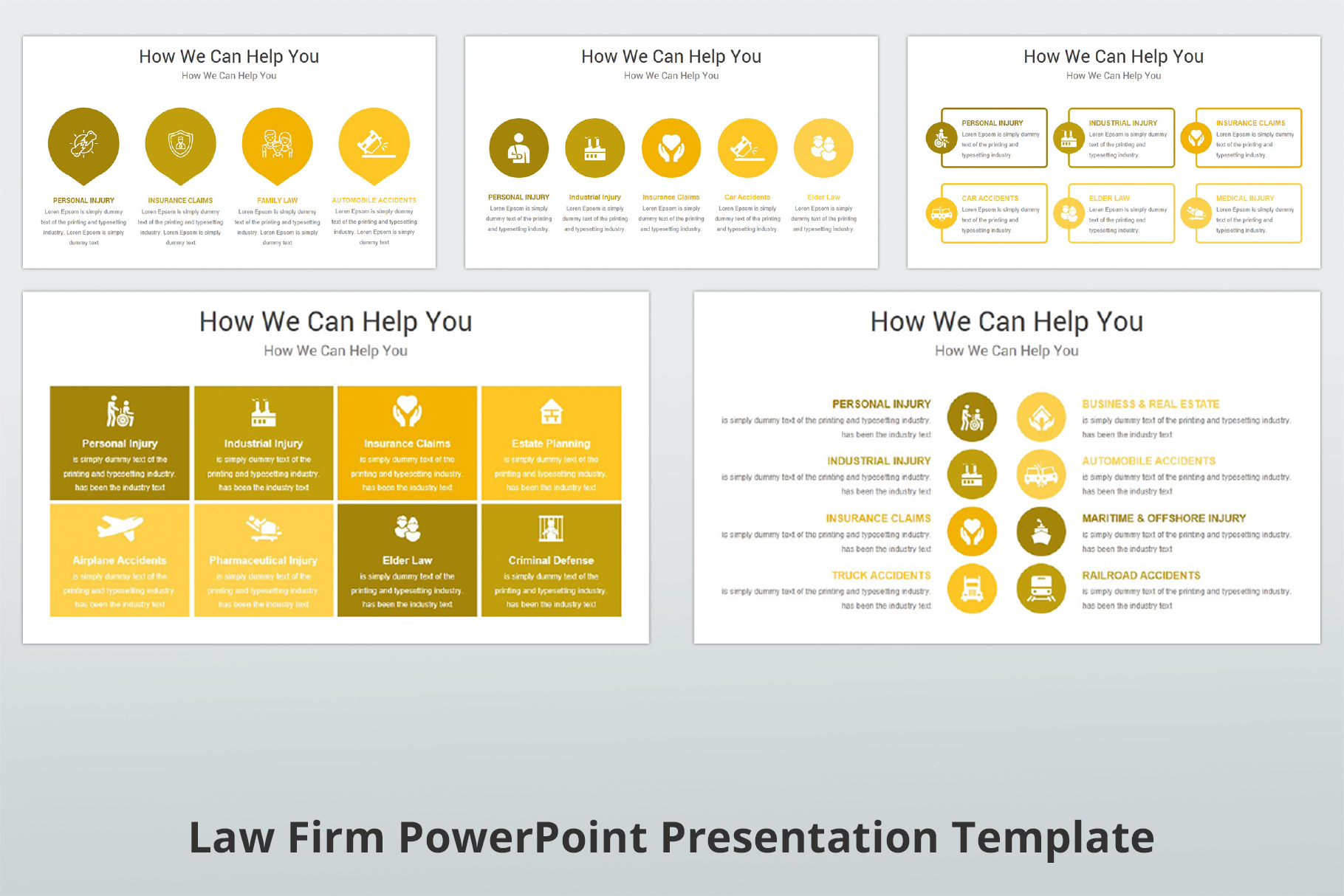 Law Firm PowerPoint Presentation Template example image 7