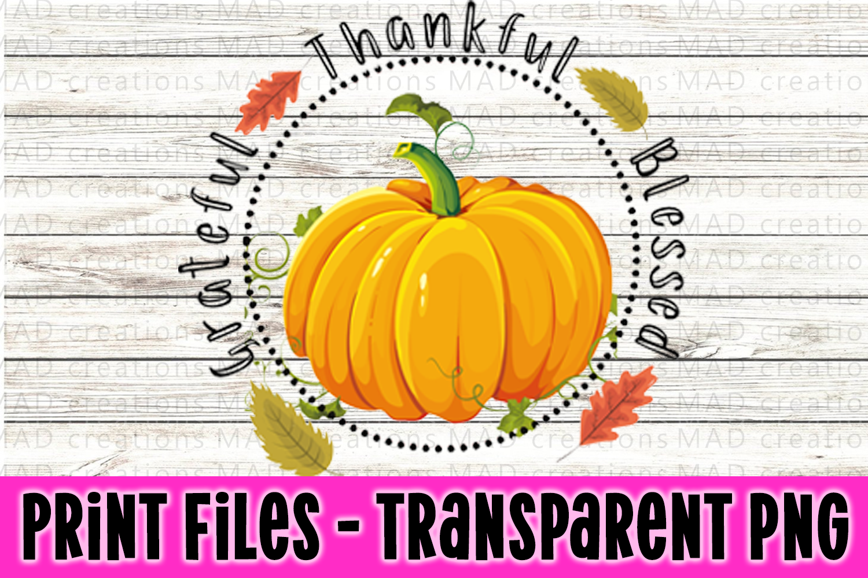 Pumpkin Bundle - Fall Bundle - Print Files Clipart example image 6