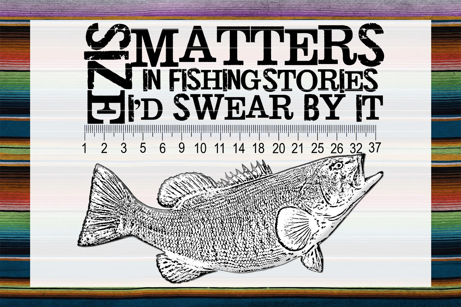 Fishing Stories Sublimation PNG example image 1