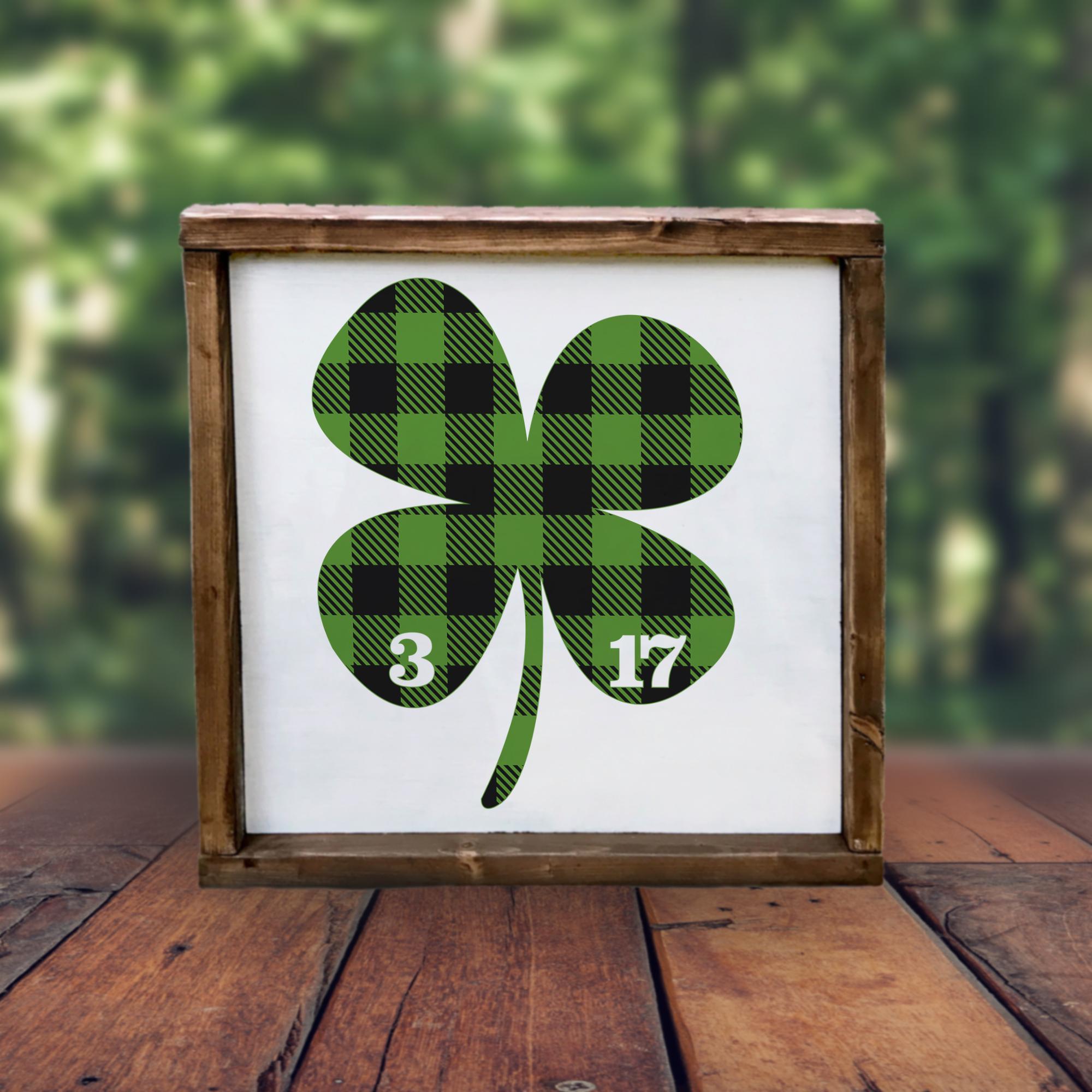 Buffalo Plaid St Patrick's Day Bundle - A Lucky Little Set example image 5