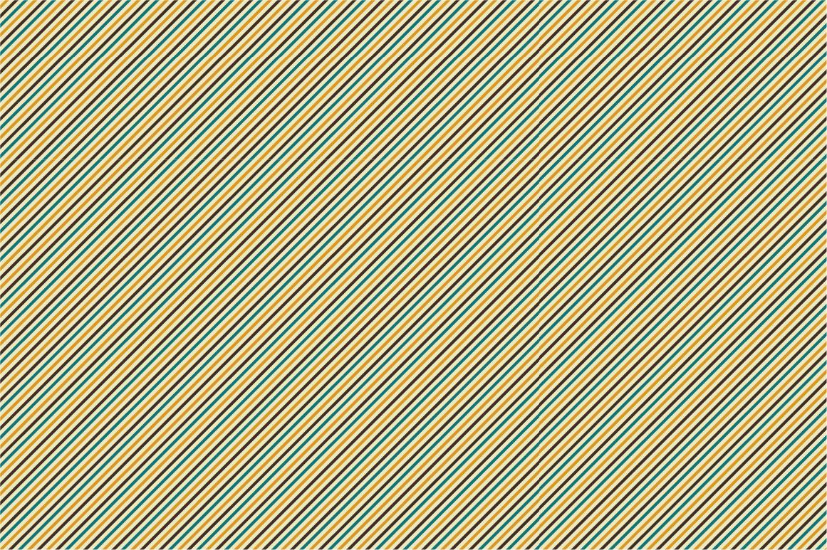Set of Retro Seamless Patterns example image 6