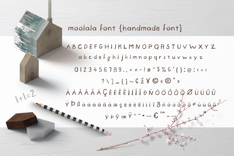 Moolala Font example image 2