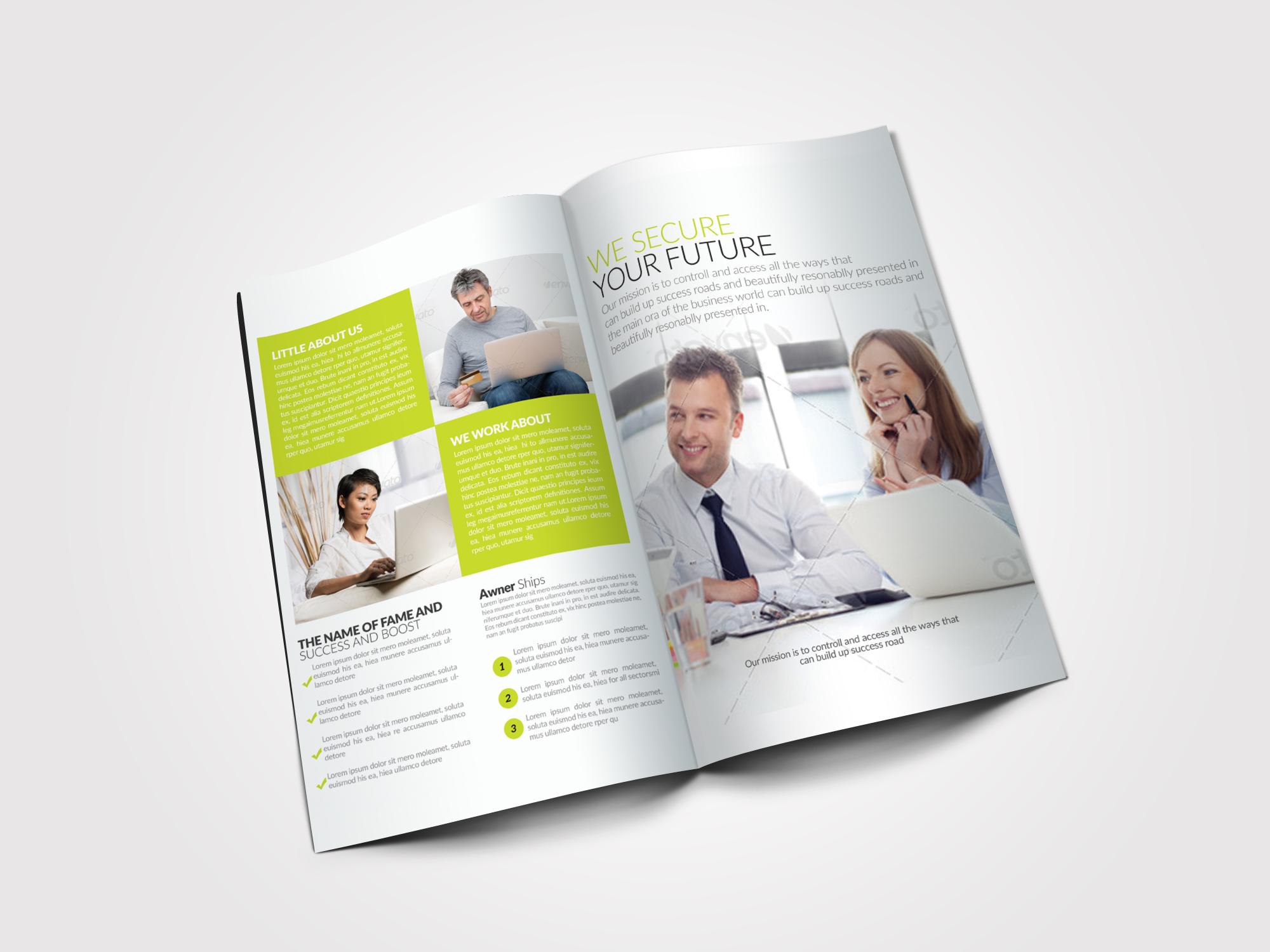 Creative Bifold Business Brochure example image 4