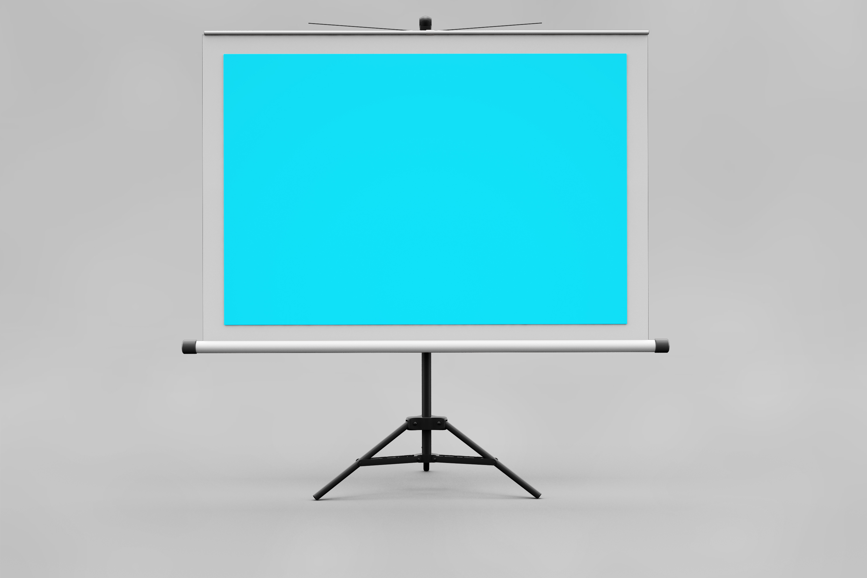 Projector Screen MockUp example image 3