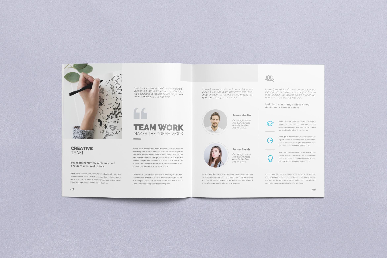 Multipurpose Square Brochure example image 4