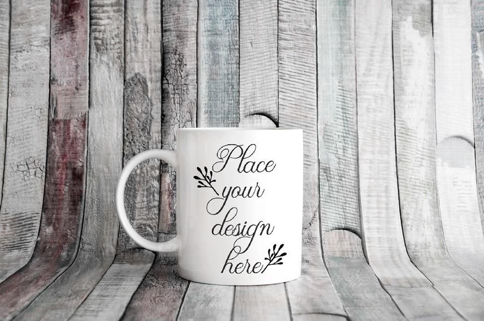 4x Bundle mug mockup PSD sublimation 11oz mugs mockups example image 13