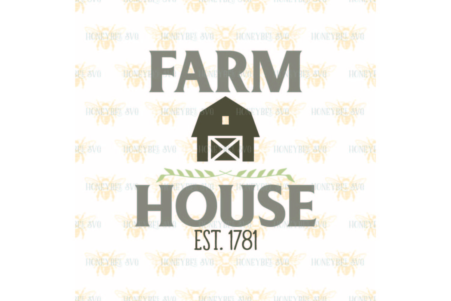 Farm House svg example image 2