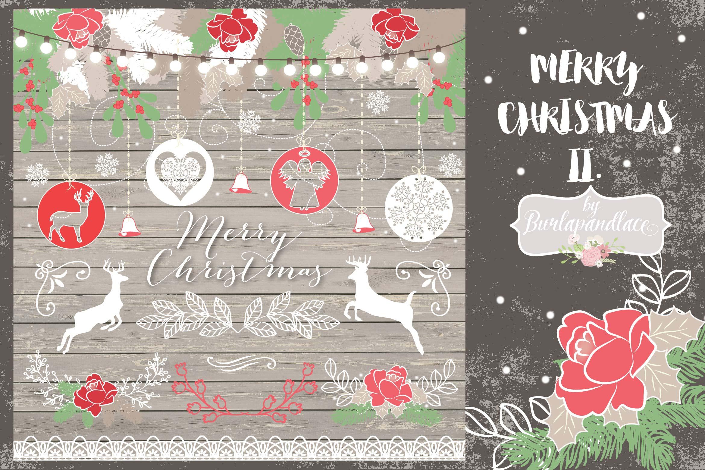 Merry Christmas II. design example image 1