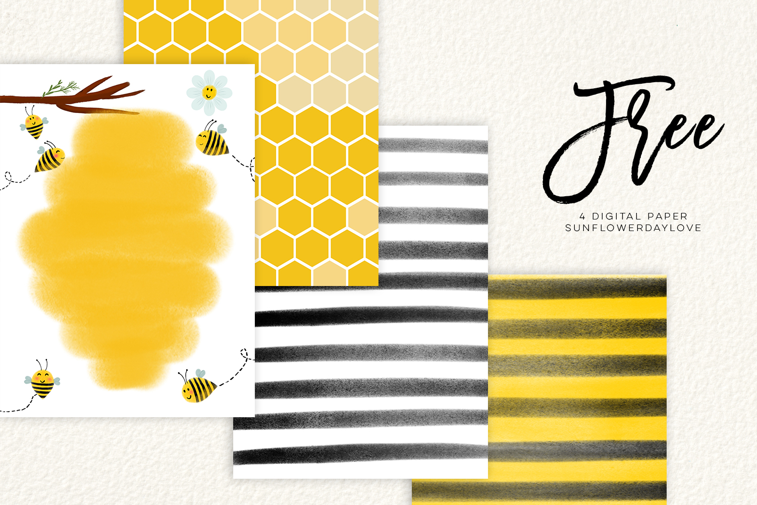bee clip art, bees illustration, Honey bee clipart example image 5