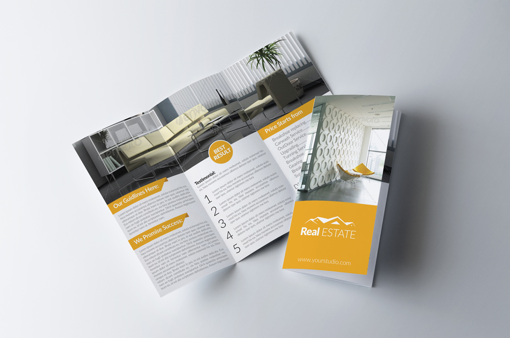 House For Sale Trifold Brochure example image 1
