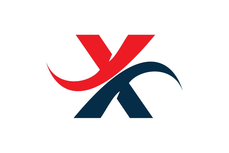 Letter X logo design. example image 1