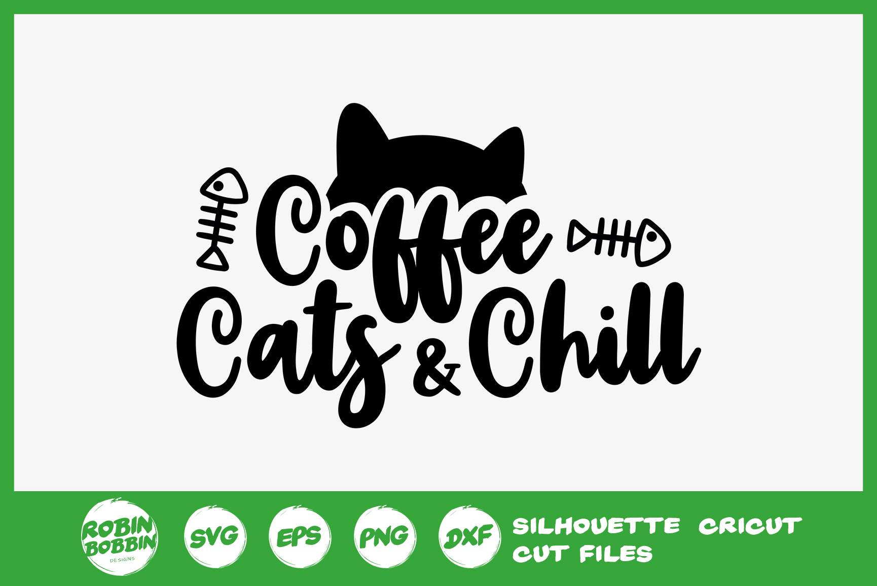 Download Coffee Cats And Chill SVG - Cat Lover SVG File