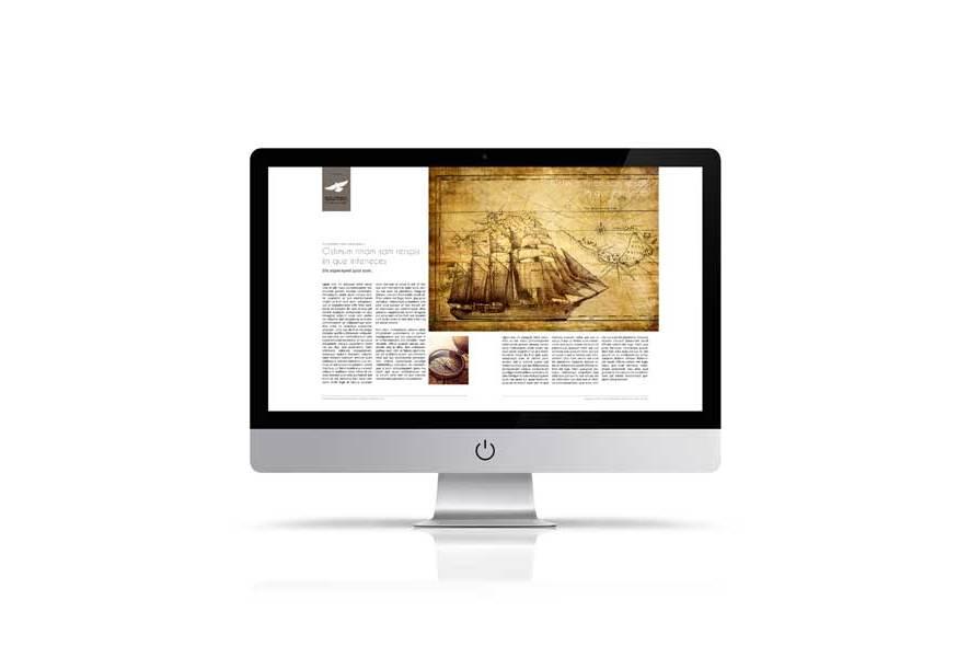 Digital Corporate Magazine Template example image 6