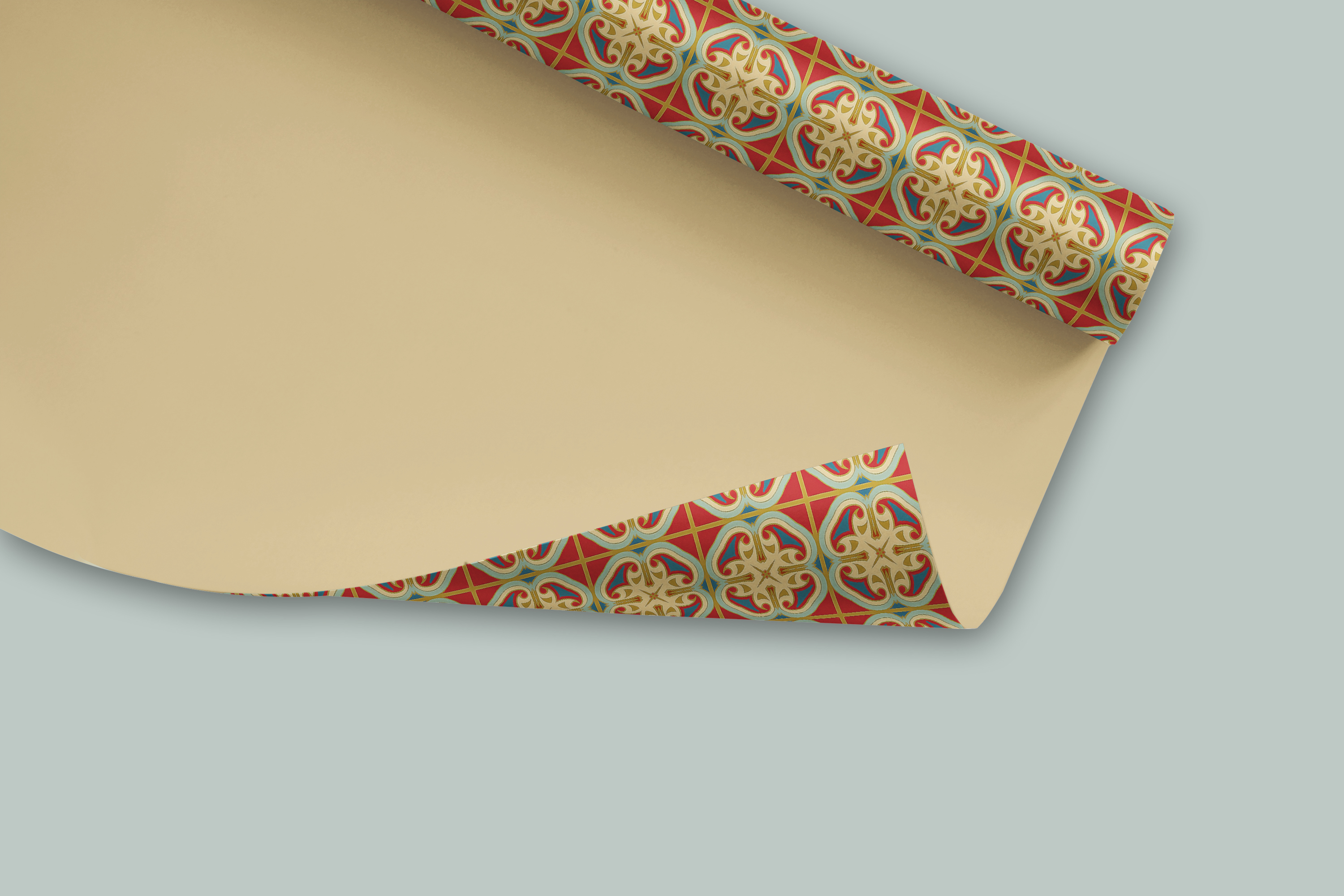 38 Arabesque Papers JPG & 20 Seamless Tiles PS Patterns PAT example image 7