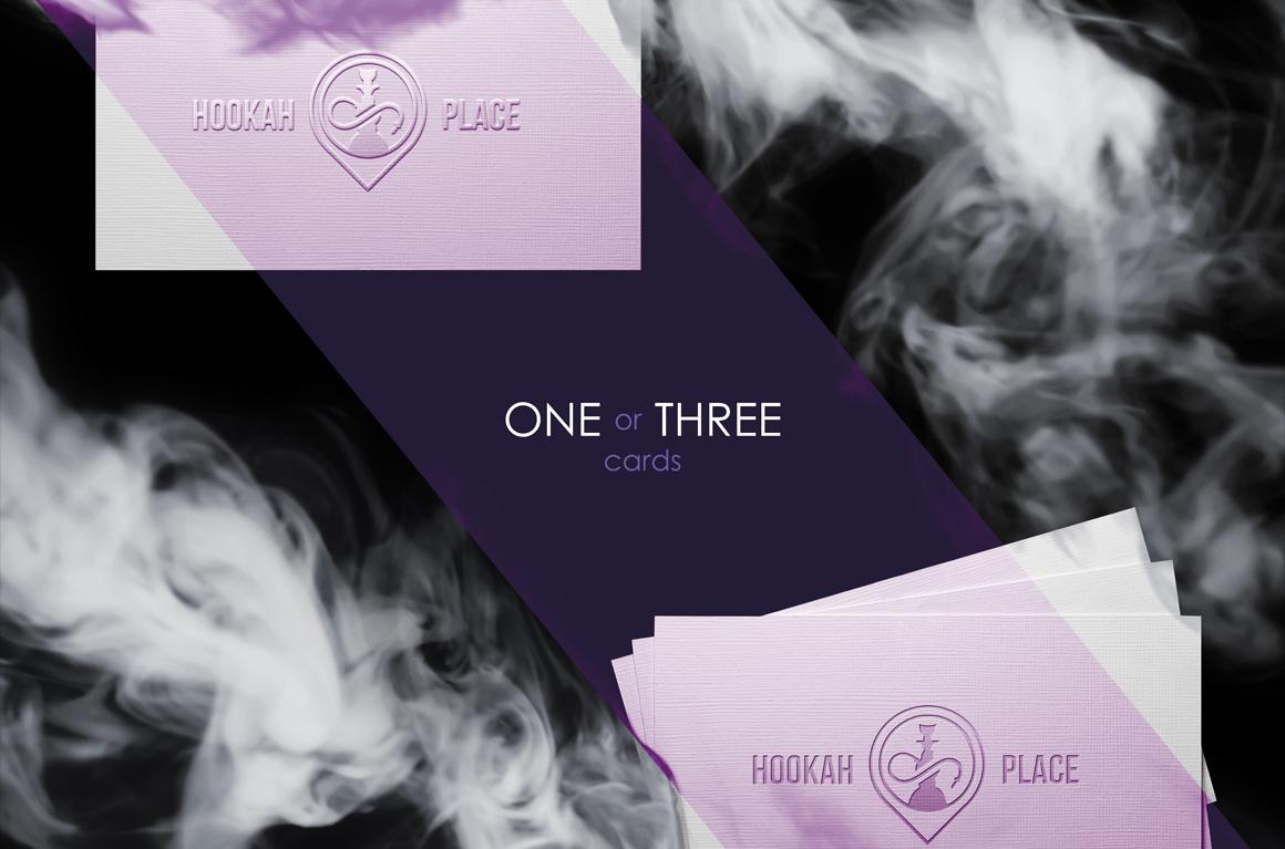 Smoke Business Card MockUp example image 7