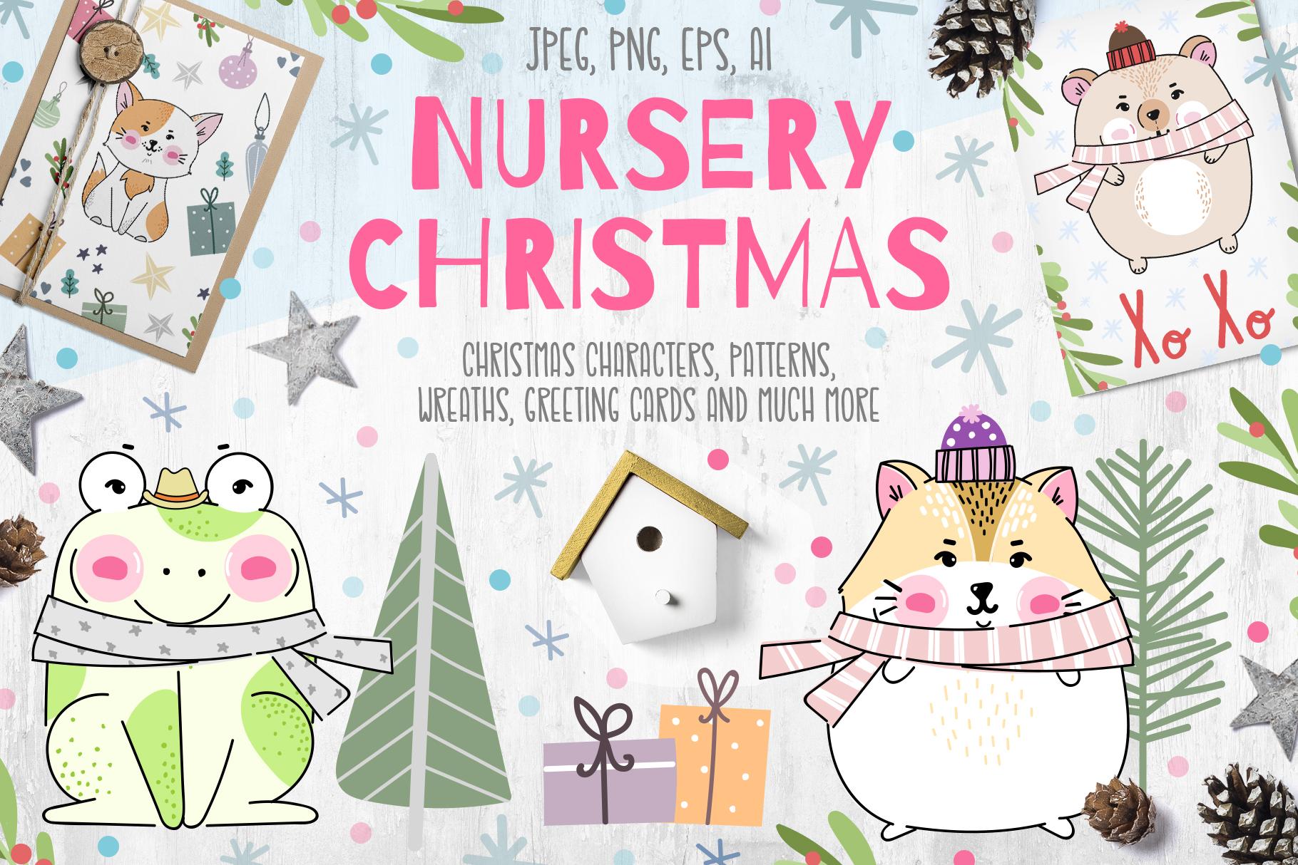 Nursery Christmas example image 1