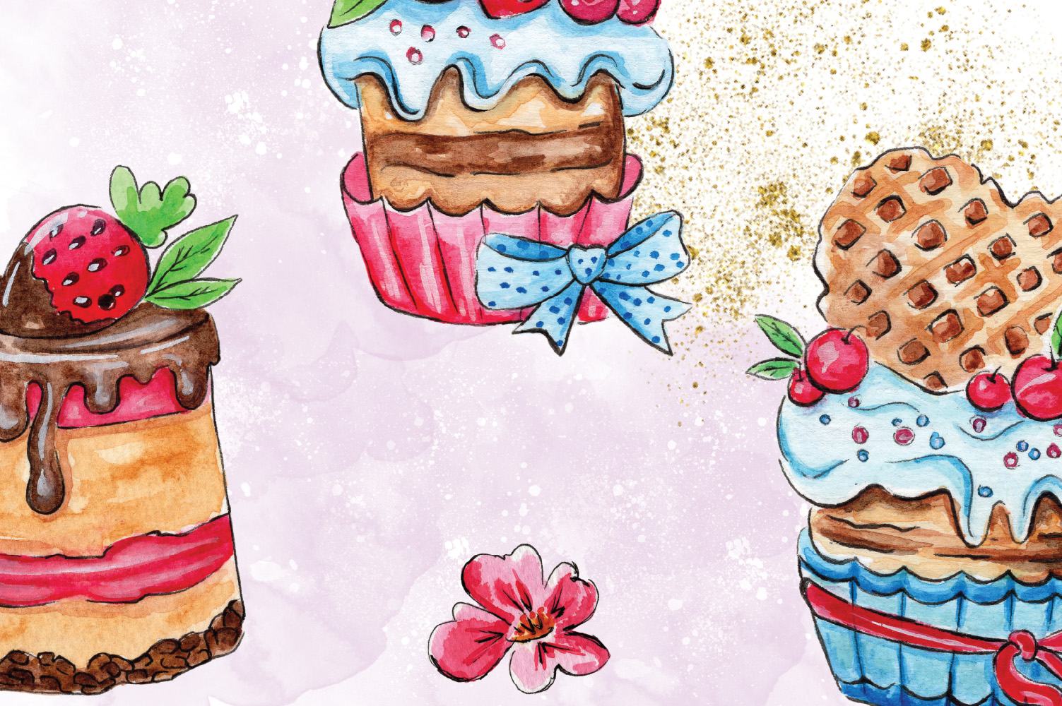 Cakes Collection Clip Art example image 2