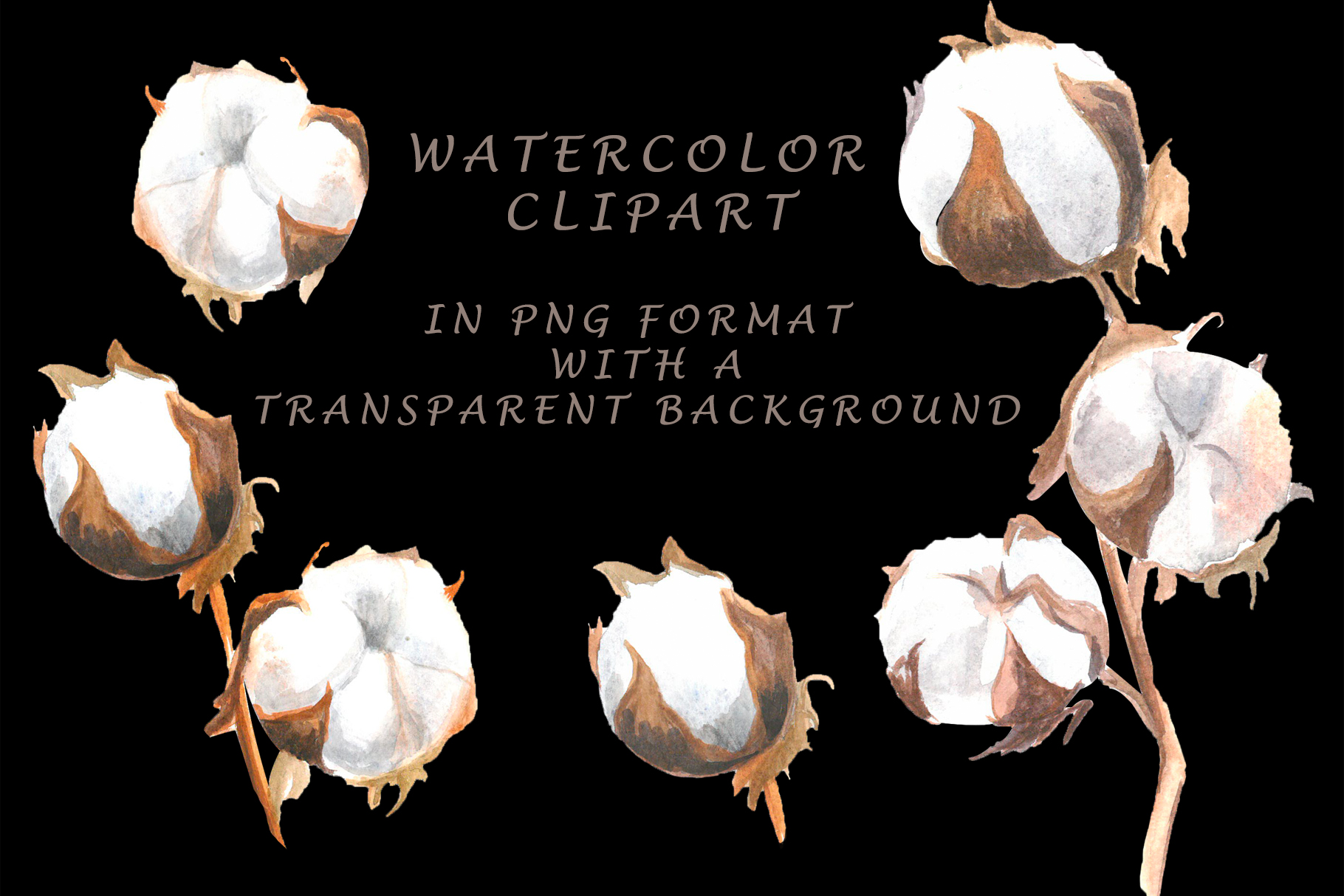 Watercolor cotton example image 2