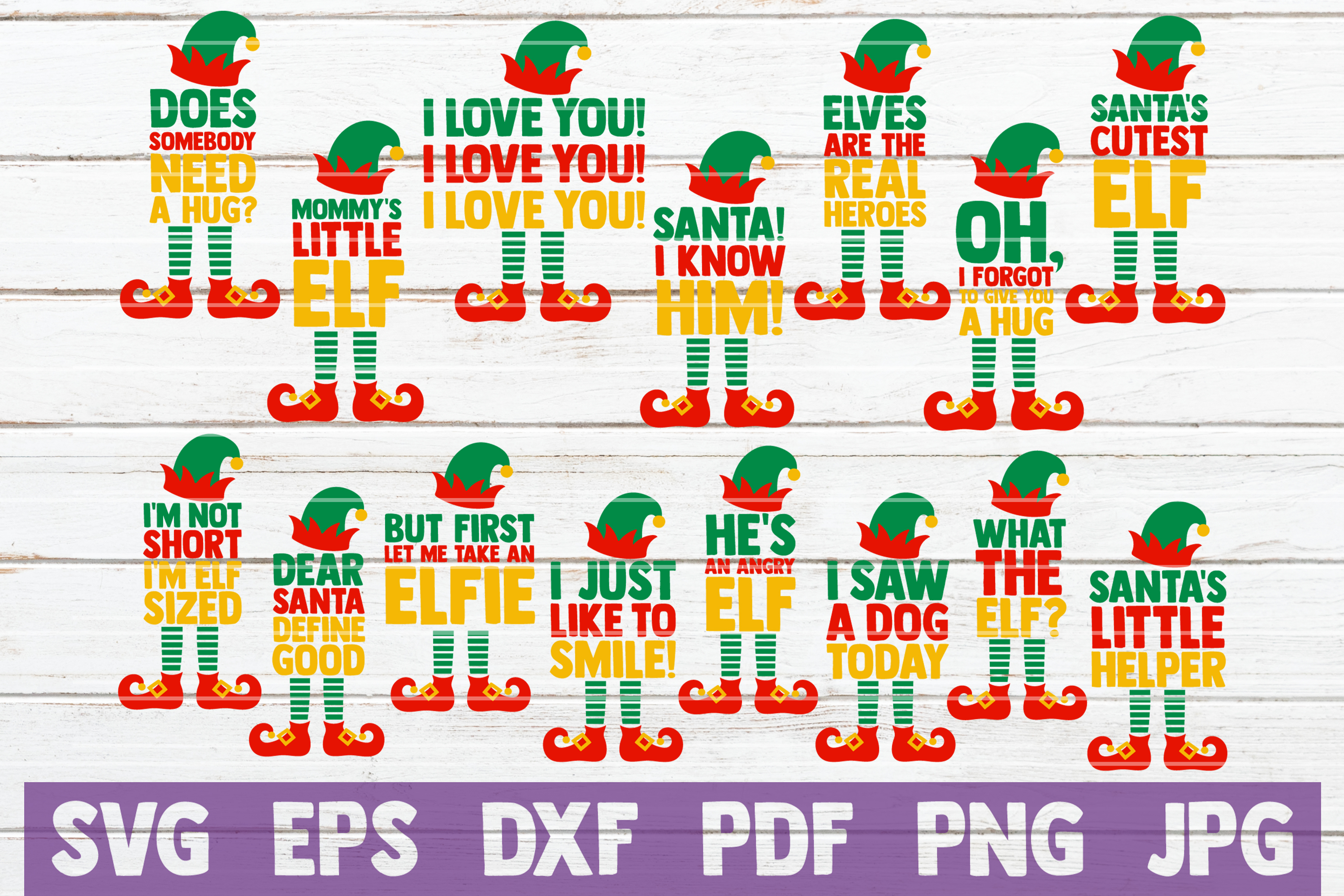HUGE Christmas SVG Bundle |100 Holiday Designs SVG Cut Files example image 6