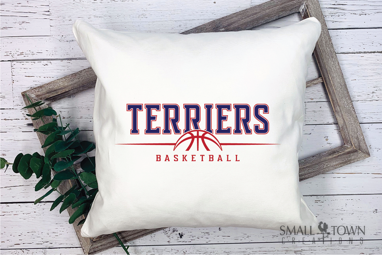 Terrier, Basketball, Sport, Team, Logo, PRINT, CUT, DESIGN example image 3