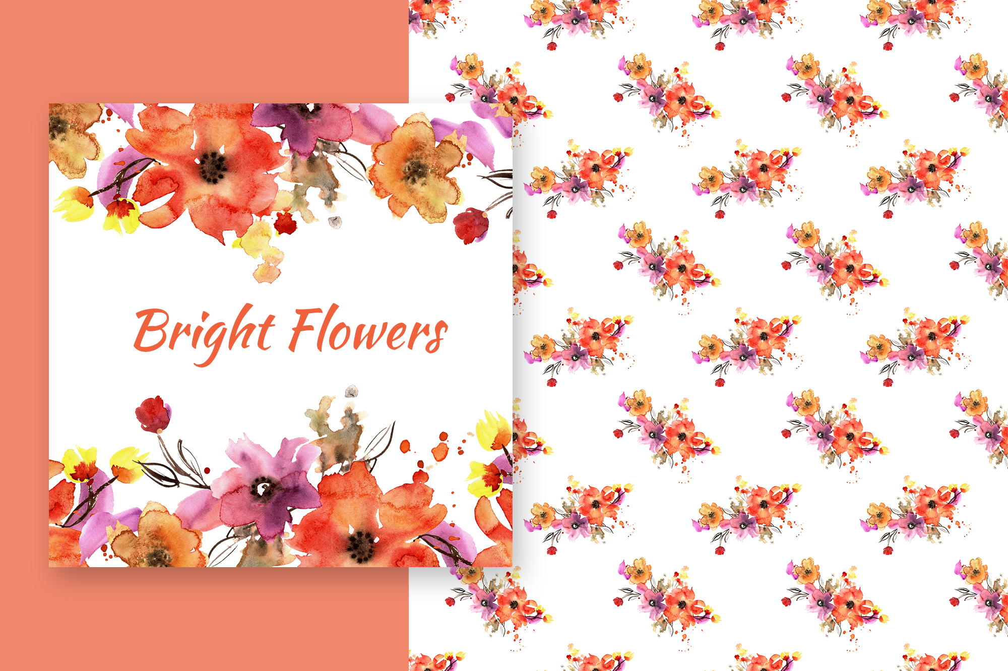 Bright flowers example image 5