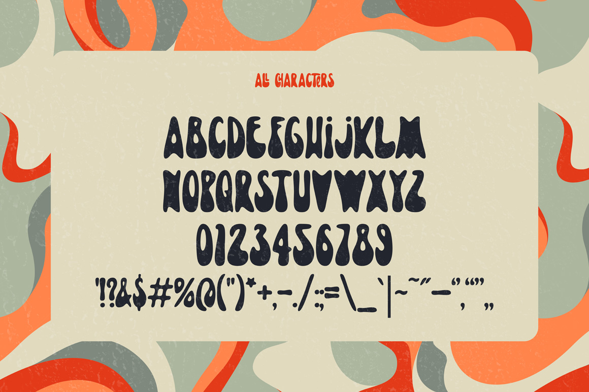 Lovebus font + graphics example image 3