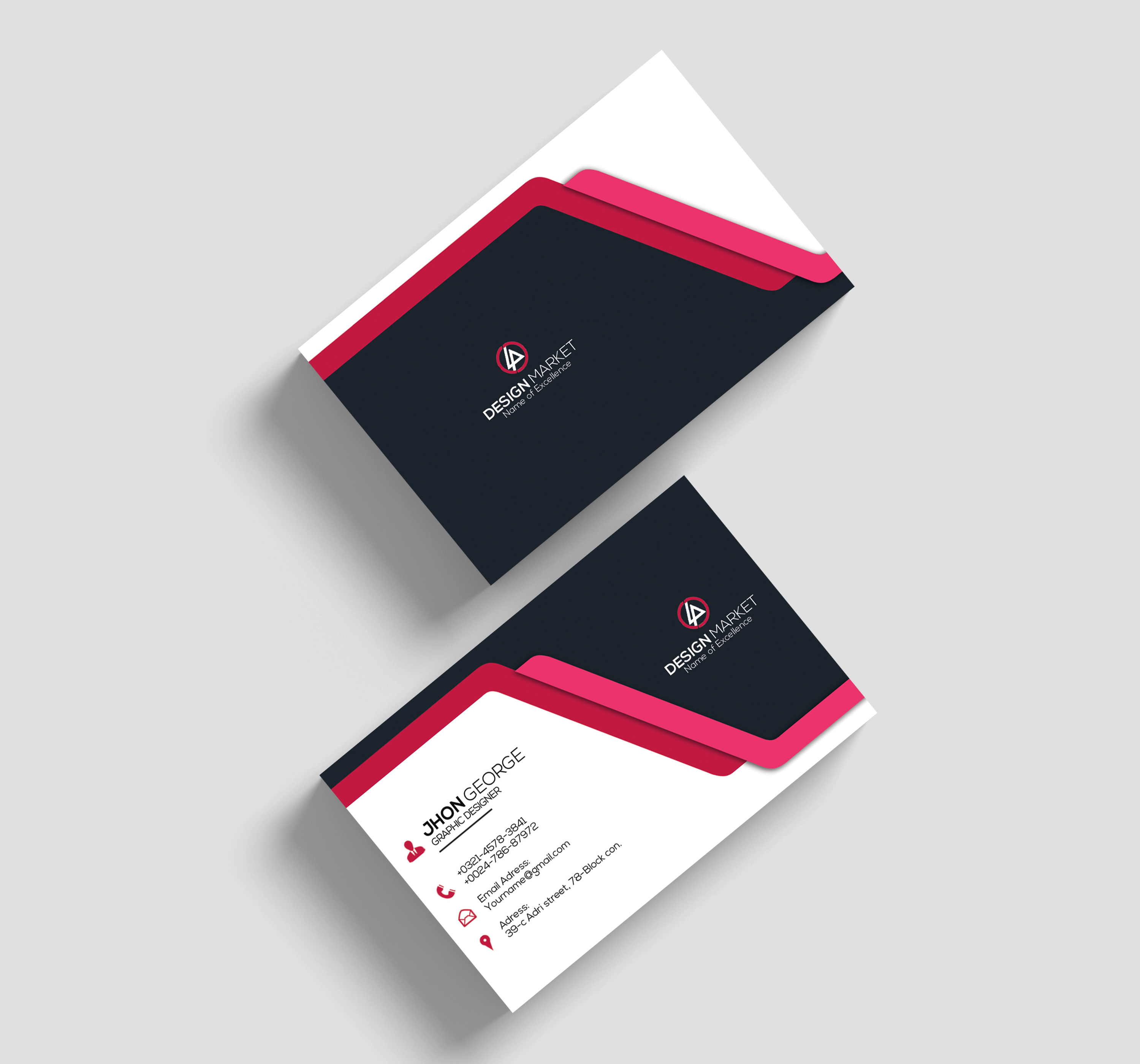 professional business card design 56670  business cards