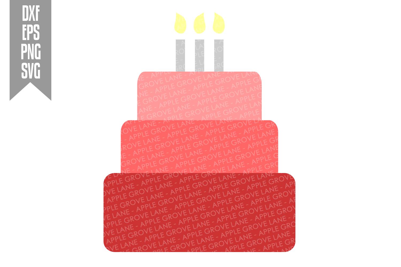 Pink Birthday Svg Bundle - 8 designs included - Svg File example image 9