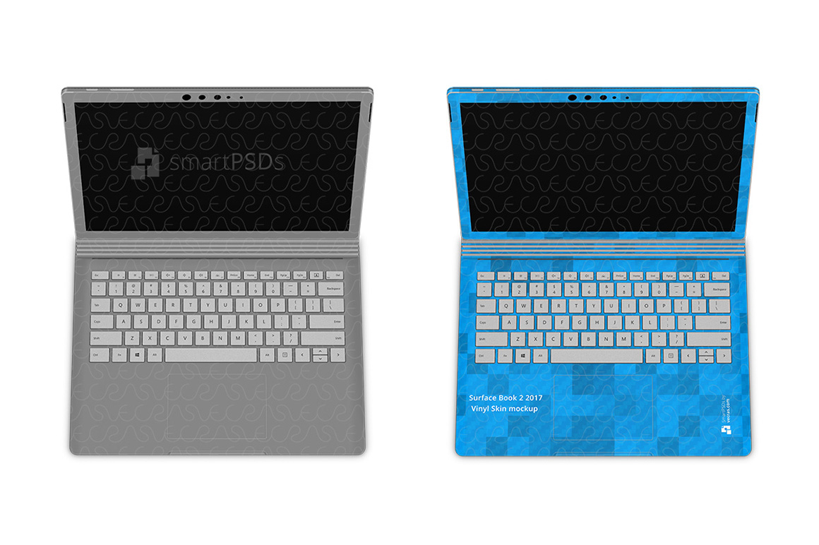 Microsoft Surface Book 2 Skin Design Template 2016-17 example image 2