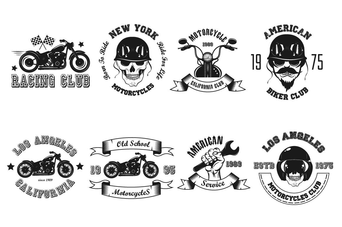 Bikers Logo Bundle example image 5