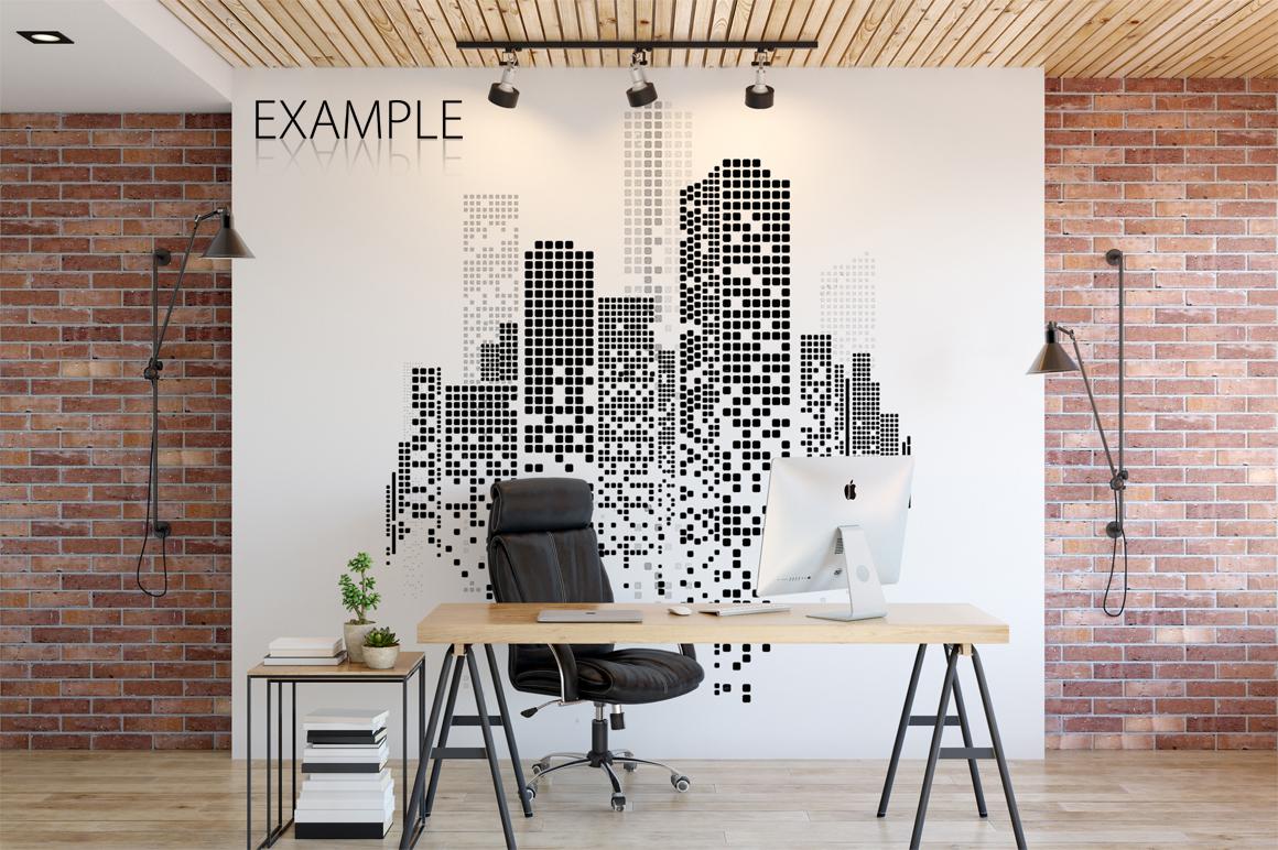 OFFICE Wall Mockup Bundle example image 11