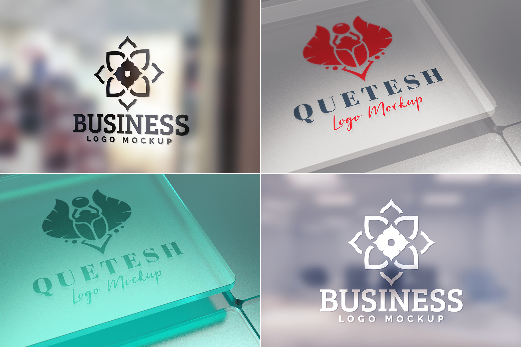 100 Logo Mockups Bundle Vol.2 example image 15